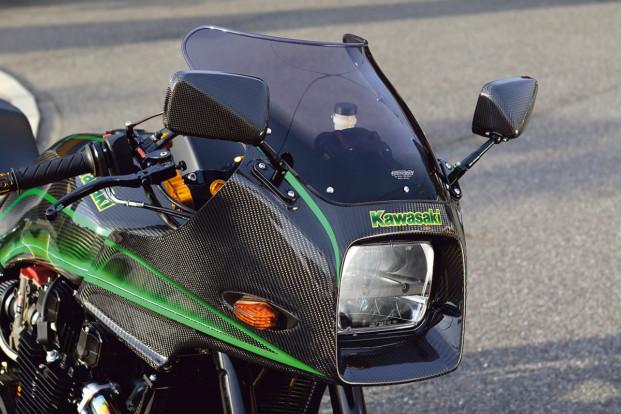 カスタムマシン GPz1100 by PMC アッパーカウル