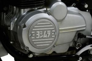 ヨシムラ CB400FOUR用アルミダイナモカバー