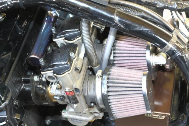 モトガレージイトウ GPZ900R TMR