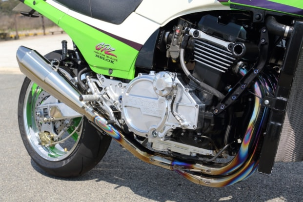 モトガレージイトウ GPZ900R マフラー