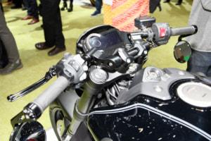 HONDA CB1000R Customized Concept ハンドル