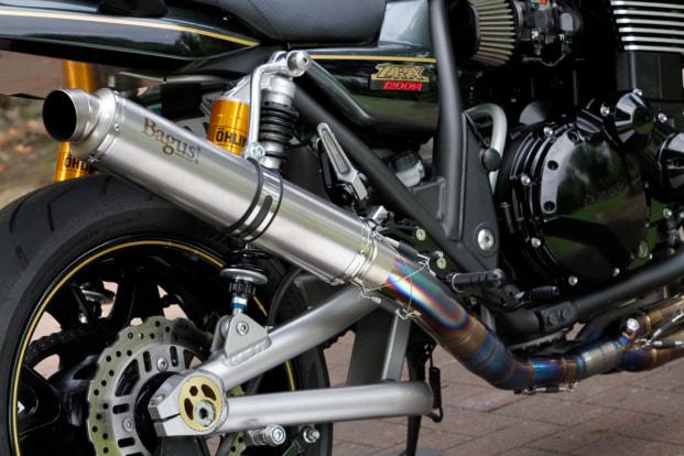 ZRX1200DAEG by バグース! モーターサイクル オリジナルサイレンサー