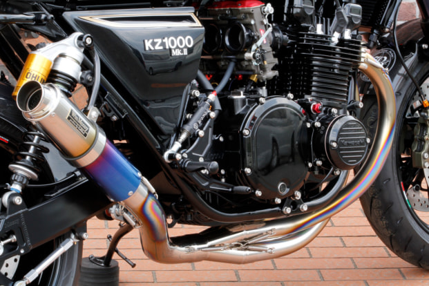 Z1000MkⅡ by ブルドック マフラー
