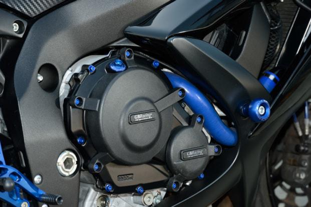 GSX-R600 by モトサロン・オカ GBレーシング製カバー