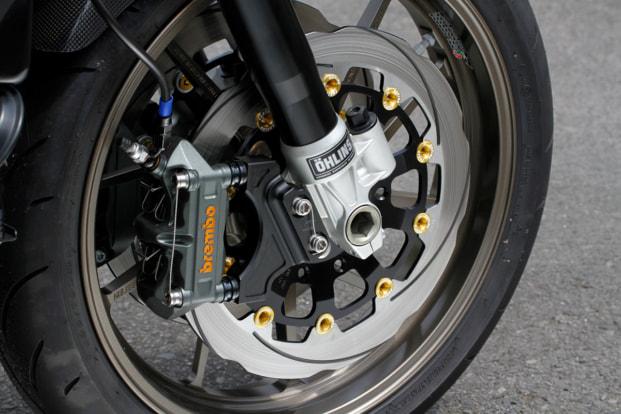 KAWASAKI ZRX1200R by Zレーシングパーツ フロントブレーキ