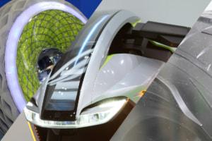 [東京モーターショー2019]近々実現!ではないけれど近未来の姿を予感させる新機軸タイヤとライティング