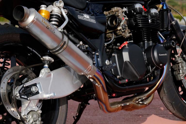ZEPHYR750 by バグース! モーターサイクル オリジナルマフラー