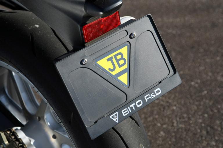Z900RS by ビトーR&D ナンバープレートホルダー