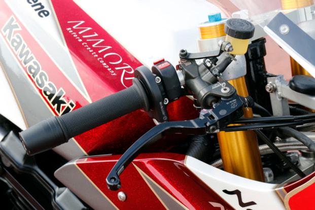 GPZ900R by トレーディングガレージ・ナカガワ ハンドルバー
