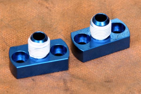 オイルクーラー交換 止水テープ