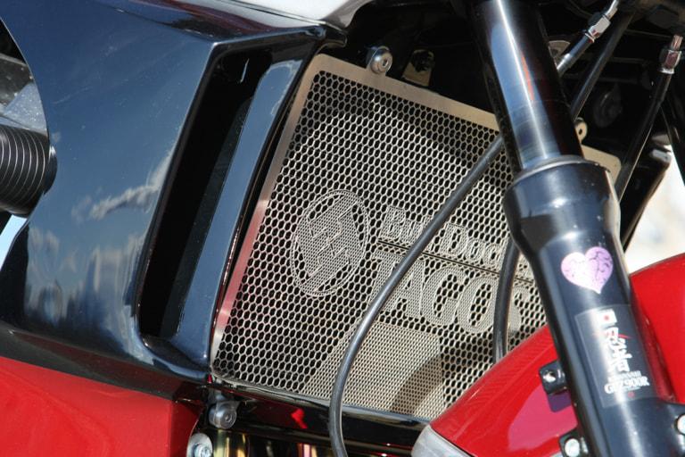 GPZ900R by ブルドッカータゴス ラジエターカバー