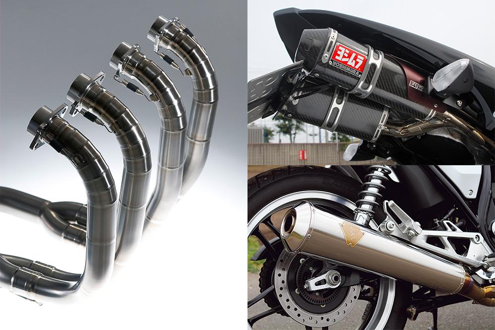 マフラー サイレンサー バイク