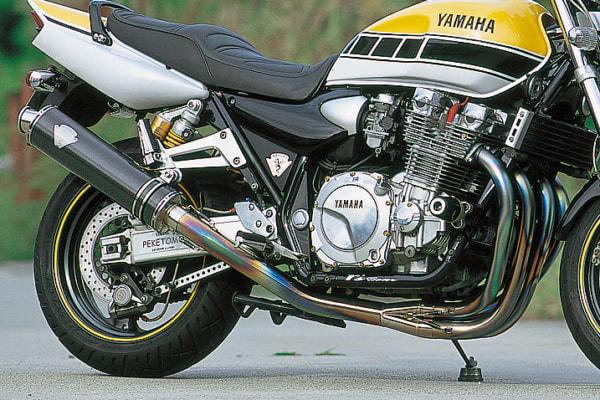 XJR1300 スリップオンサイレンサー