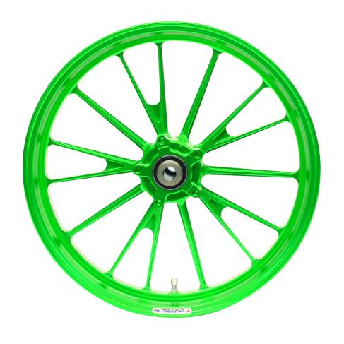 GALE SPEED アルマイトカラーオーダーシステム グリーン
