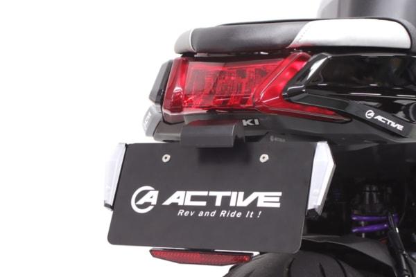 アクティブ LEDナンバーサイドウィンカー コンパクト