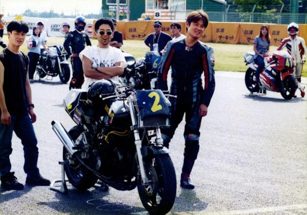 1995年からGPz400などでライダーとして参戦していたサンクチュアリー本店・中村博行代表