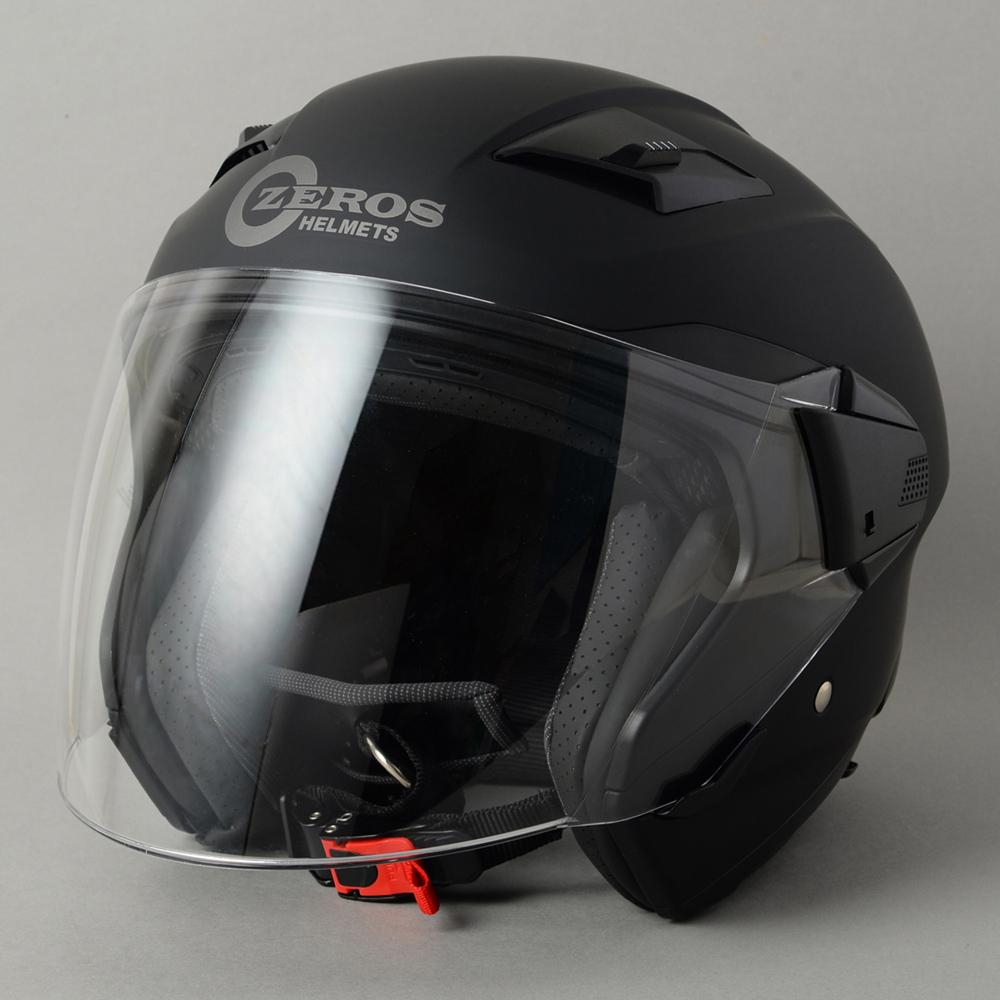 ROM ZEROS(ゼロス)ヘルメット・マットブラック