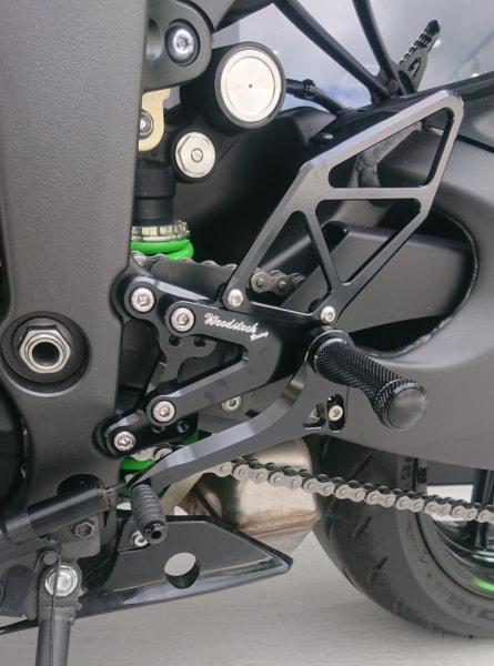 ウッドストック Ninja ZX-6R用バックステップ