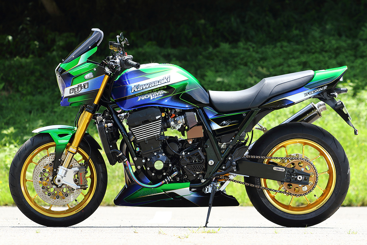 ZRX1200 DAEG by ノジマエンジニアリング