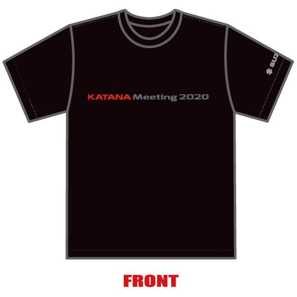 KATANAミーティング2020 オリジナル Tシャツ 前