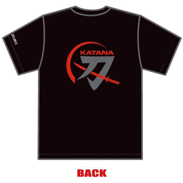 KATANAミーティング2020 オリジナル Tシャツ 後