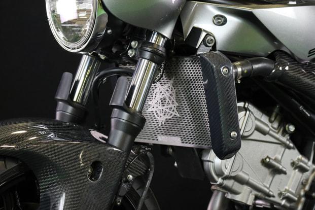 SV650X by エーテック ラジエターコアガード