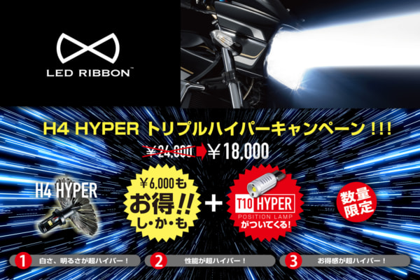 サイン・ハウス『LED RIBBON トリプルハイパーキャンペーン』