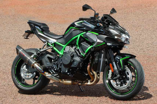"STRIKER ""INTER MODEL"" RC SLIP-ON OFF-Type B レーシング Kawasaki Z H2"