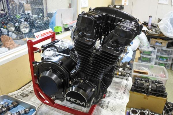ZレーサーⅢのエンジン