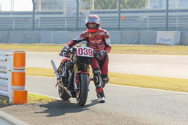 ZレーサーⅢを駆る國川浩道選手