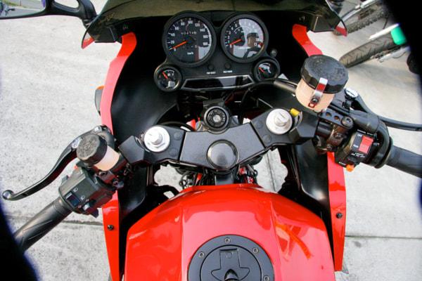 GPZ900R タゴスバーハンドル