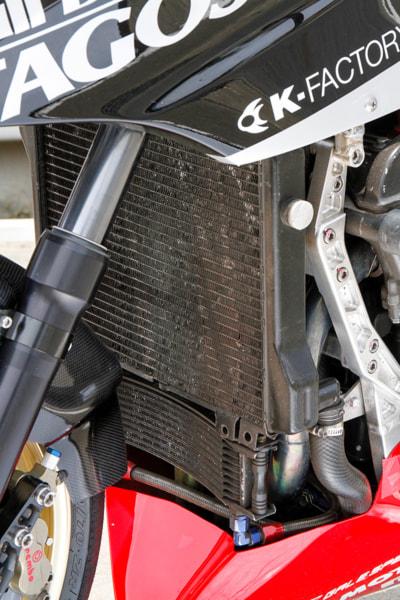 GPZ900R ラジエター&オイルクーラー