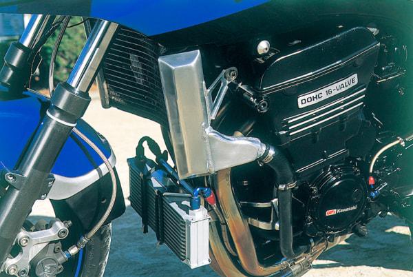 GPZ900R by タバックスエンジニアリング ラジエター