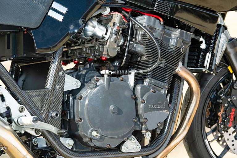 GSX750S KATANA by 竹澤裕一(大阪府) GSX-R750RK用エンジン