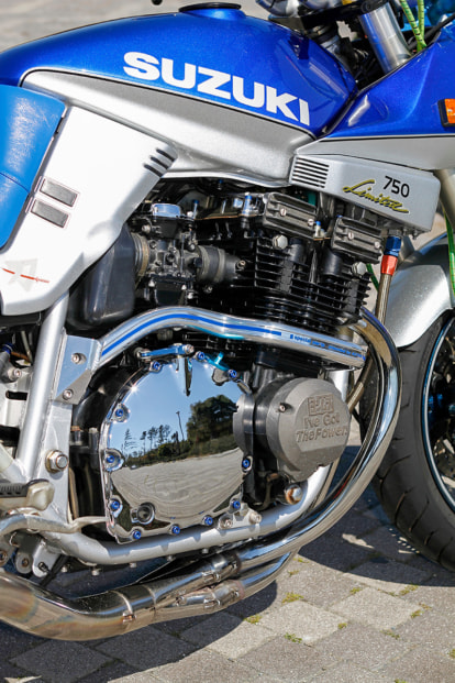 GSX750S KATANA by 大石悦也(静岡県) エンジン