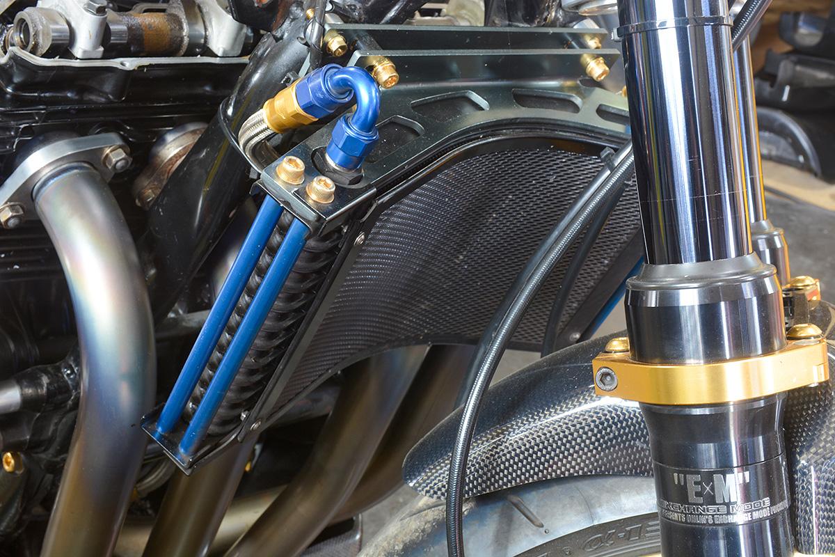 車種別カスタム:XJR1200/1300シリーズ オイルクーラー