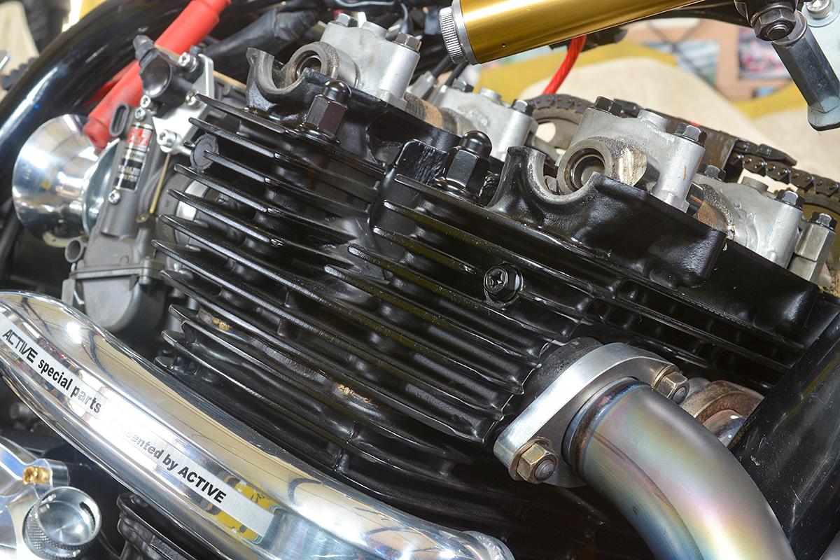 車種別カスタム:XJR1200/1300シリーズ ガンコート処理