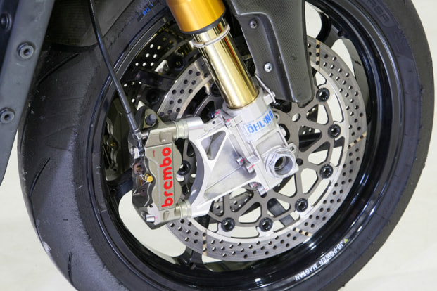 GPZ1100 by パワービルダー フロント足まわり