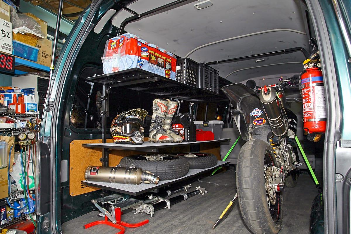 職車ドットコムのトランポカスタムでサーキットライフを快適に楽しもう