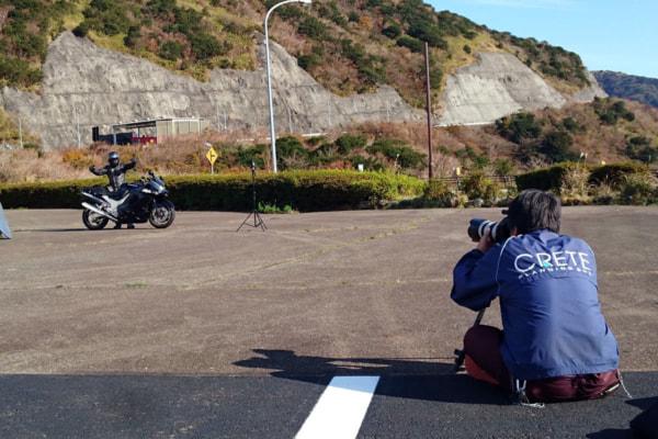 カスタムピープル撮影会 カメラマンによる撮影の様子