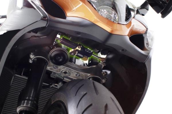 アクティブ ハイパープロ Hayabusa 22 ステアリングダンパー 装着イメージ
