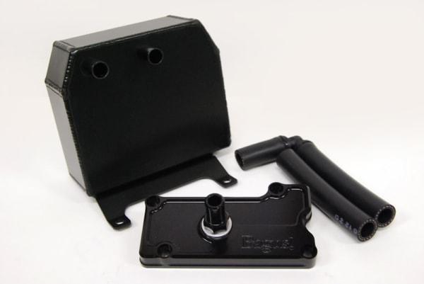 Bagus!オイルキャッチタンク&削り出しブリーザープレートセット GPZ900R用