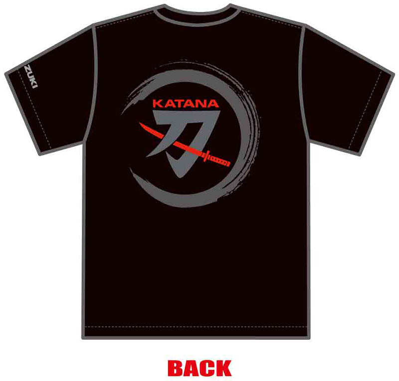 KATANAミーティング2021オリジナルTシャツうしろ