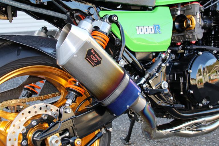 Z1000R by ブルドック マフラー