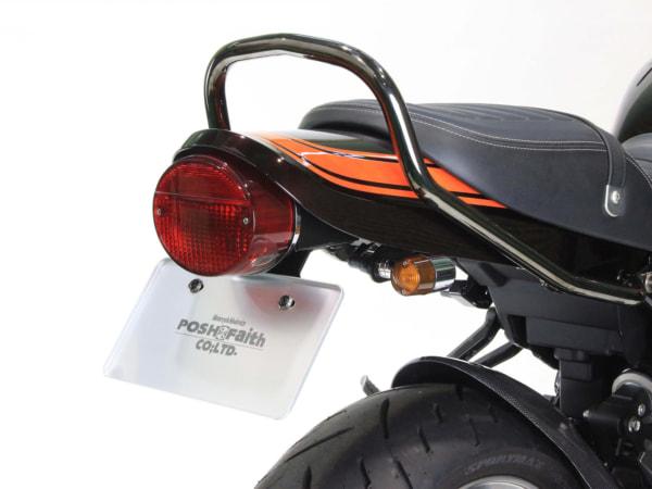 ポッシュフェイス Z900RS Z2タイプシートカウル(Z2タイプフェンダーレスキットロング 併用例)